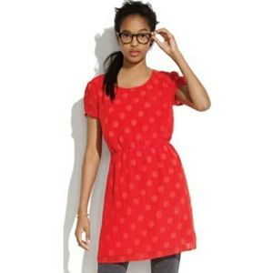Broadway and Broome Red Polka Dot Dress